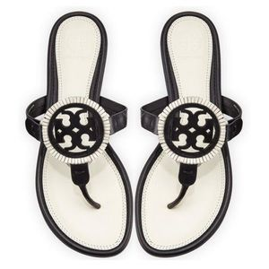 Tory Burch Miller Fringe Sandals